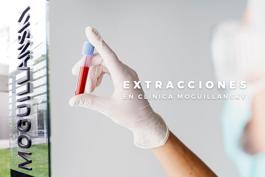 extracciones de sangre en Clinica Moguillansky